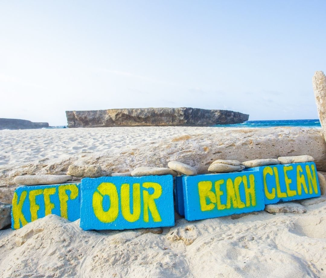 How to keep our beaches clean:  PACK IT IN & PACK IT OUT